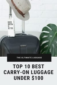 Best Carry On Luggage Under 100