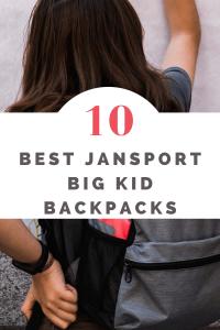 Jansport Big Kid Backpacks