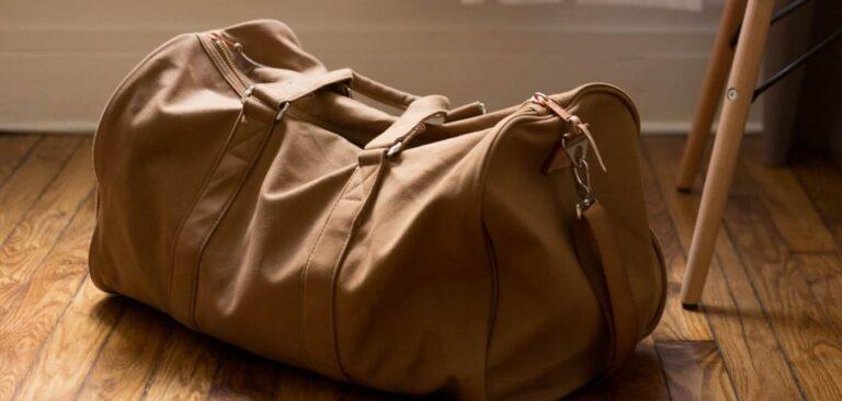 Weekender Bag With Trolley Sleeve