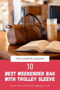 Weekender Bag With Trolley Sleeve